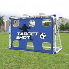 Outdoor-Play Футбольные ворота с зонами 2 в 1 6 ft JS-7180T